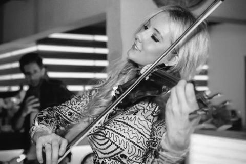 disque music, violin