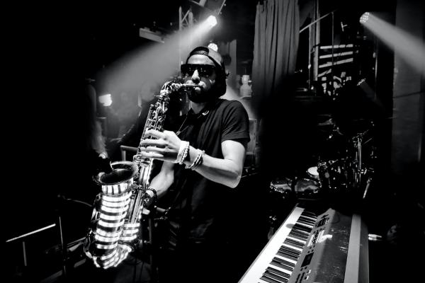 disque music, saxophonist, Ben